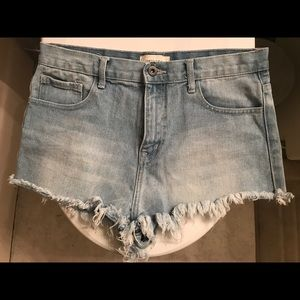Brand new jean shorts. NWOT